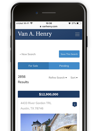 Van Henry Realtor | Mobile Search
